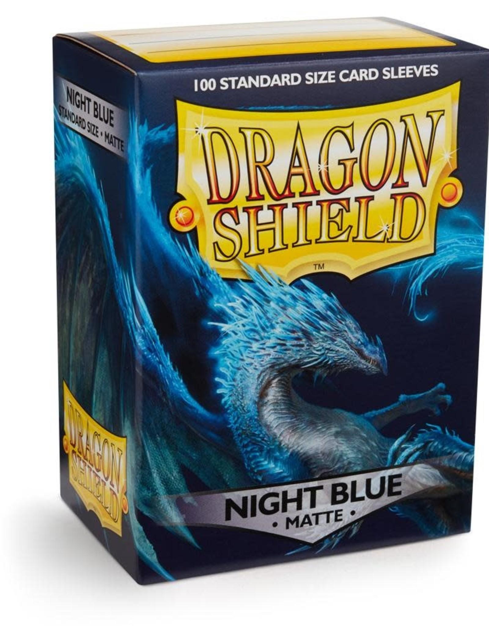 Arcane Tinmen Dragon Shield (100) Matte Night Blue