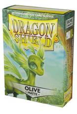 Arcane Tinmen Dragon Shields Sleeves: Matte Olive 60ct