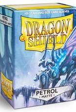 Arcane Tinmen Dragon Shields Sleeves: Matte Petrol 100c
