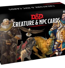 Gale Force 9 Dungeons & Dragons Creature and NPC Cards