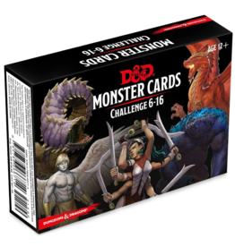 Gale Force 9 Dungeons & Dragons Monster Cards 6-16