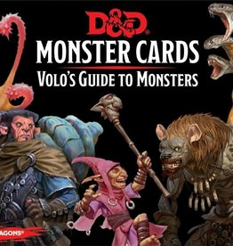 Gale Force 9 Dungeons & Dragons Monster Cards Volo's Guide to Monsters