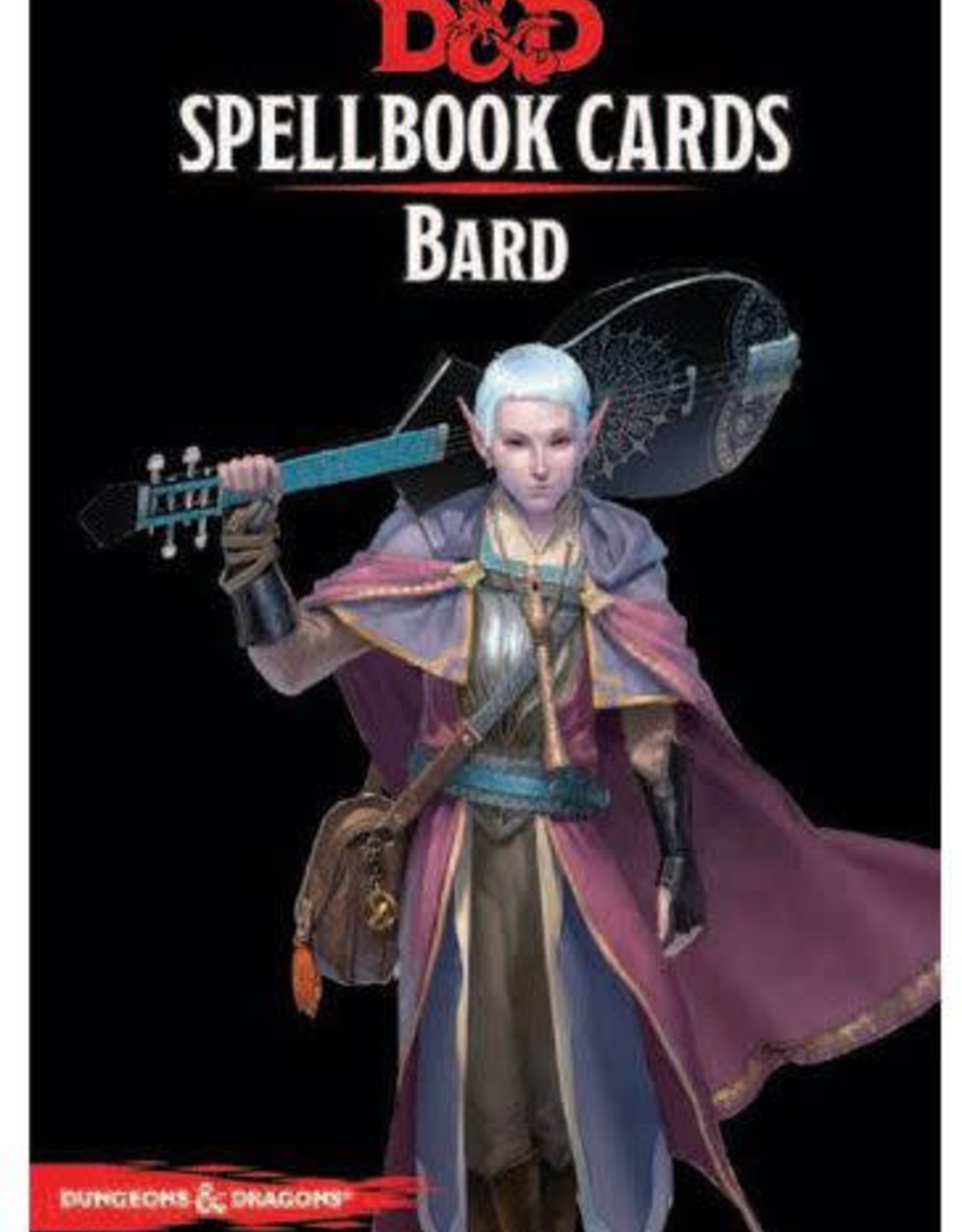 Gale Force 9 Dungeons & Dragons Spellbook Cards Bard