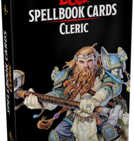 Gale Force 9 Dungeons & Dragons Spellbook Cards Cleric