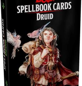 Gale Force 9 Dungeons & Dragons Spellbook Cards Druid