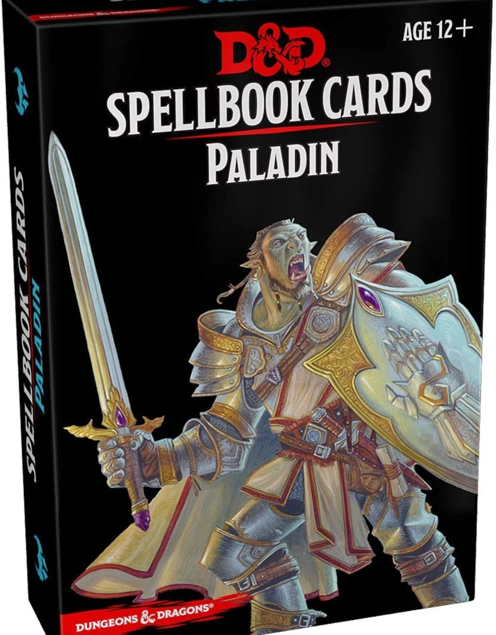 Gale Force 9 Dungeons & Dragons Spellbook Cards Paladin