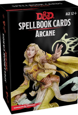 Gale Force 9 Dungeons And Dragons: Updated Spellbook Cards - Arcane Deck