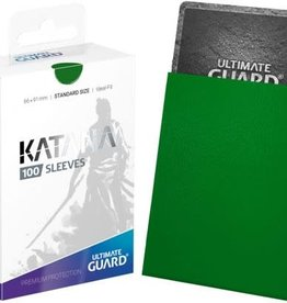 Ultimate Guard Katana Sleeve Green 100ct