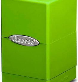 Ultra Pro Ultra Pro: Satin Tower Deck Box - Lime Green