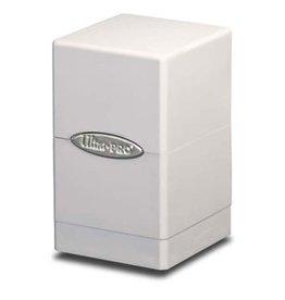 Ultra Pro Ultra Pro: Satin Tower Deck Box - White
