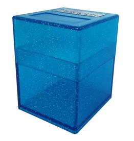 Pirate Lab Defender Deck Box, Blue Sparkle