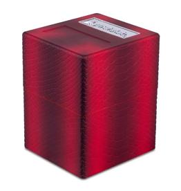 Pirate Lab Defender Deck Box, Texture Series, Dragon, Blood Red
