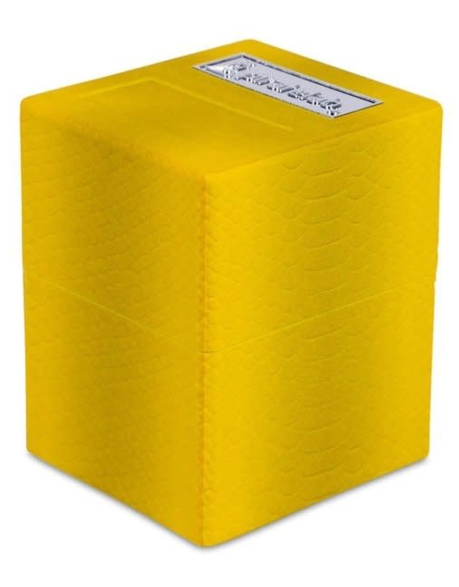 Pirate Lab Defender Deck Box, Texture Series, Dragon, Slime Yellow