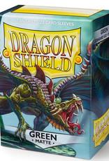 Arcane Tinmen Dragon Shield (100) Matte Green