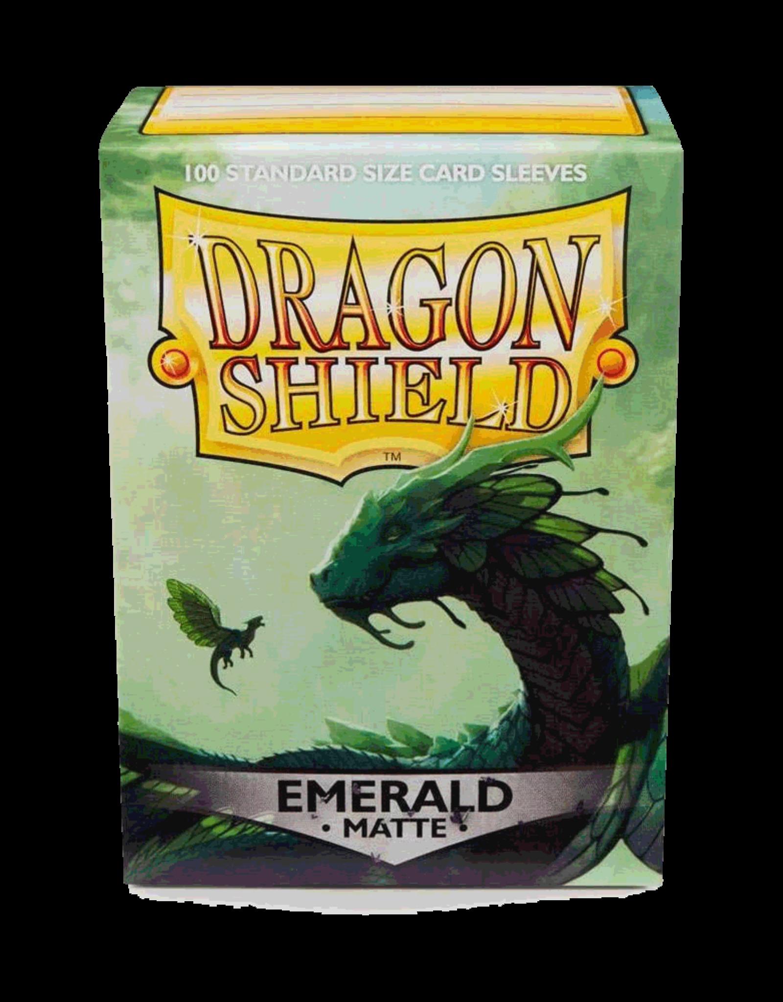 Arcane Tinmen Dragon Shields Sleeves: Matte Emerald 100ct