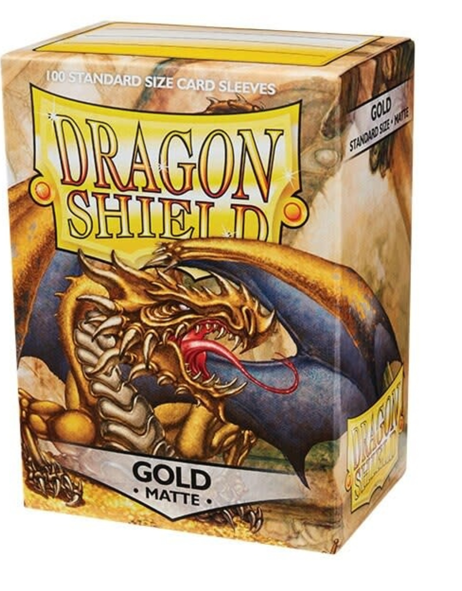 Arcane Tinmen Dragon Shield (100) Matte Gold