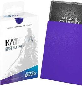 Ultimate Guard Katana Sleeve Blue100ct