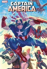 Marvel Comics Captain America #25 By Alex Ross Poster