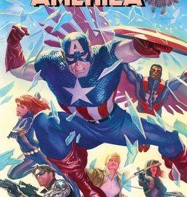 Marvel Comics Captain America #25 By Alex Ross Poster