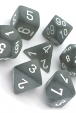 Chessex Dice Block 7ct. - Frosted Smoke/White