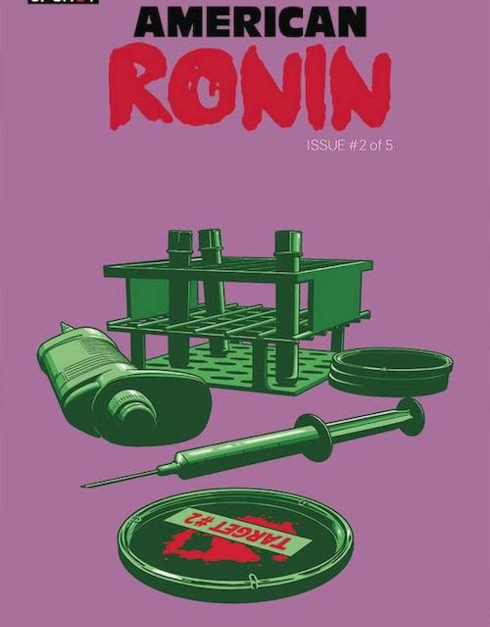 Artists Writers & Artisans American Ronin #2 Cvr A