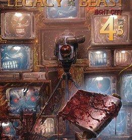Heavy Metal Magazine Iron Maiden Legacy of the Beast Vol 2 Night City #4 Cvr A