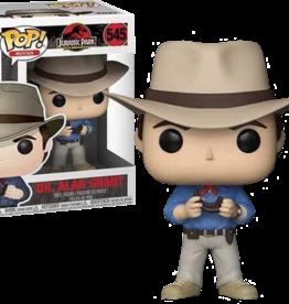 Funko POP Movies Jurassic Park Alan Grant Vin Fig