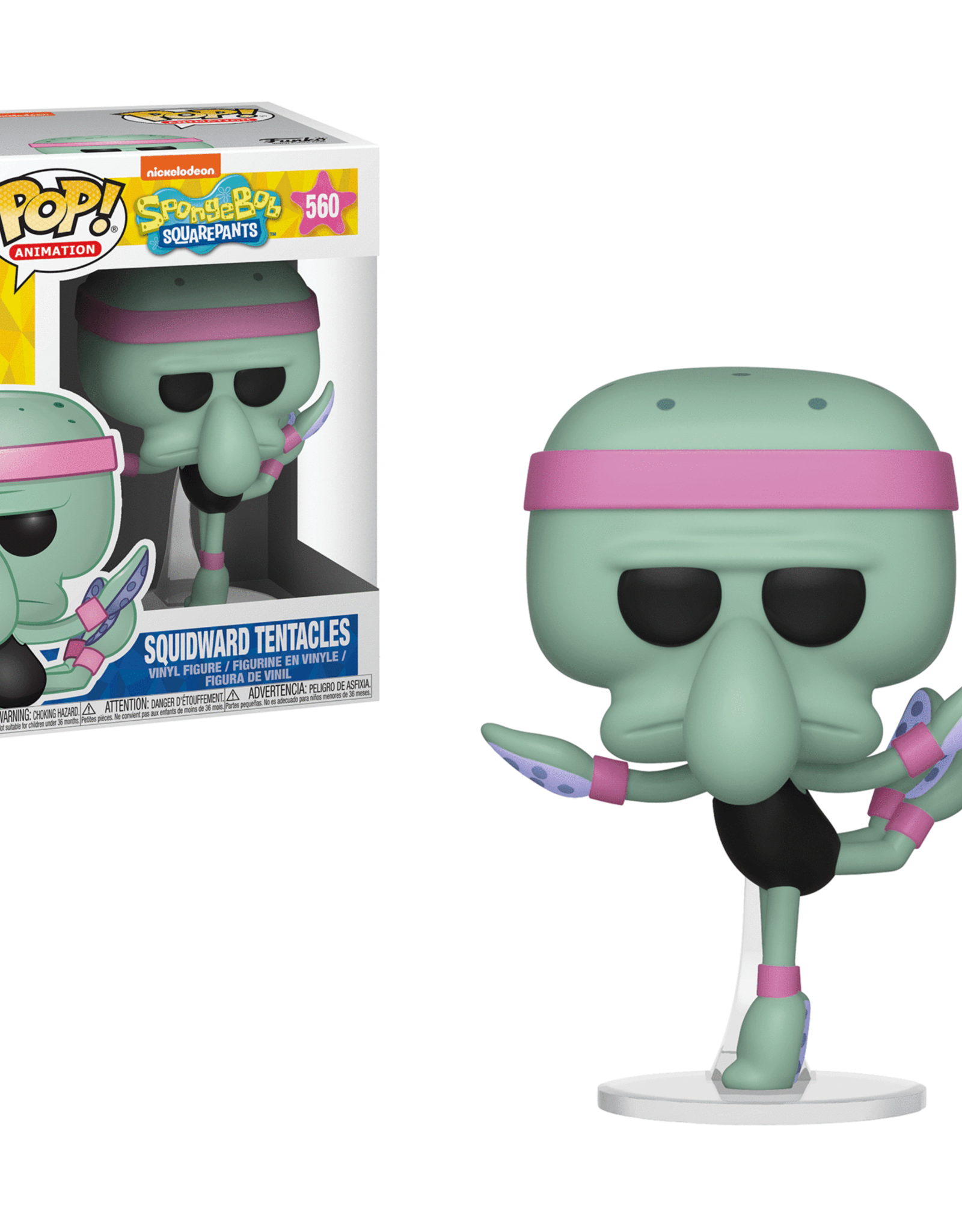 Funko POP Animation Dance Squidward Tentacles Vin Fig
