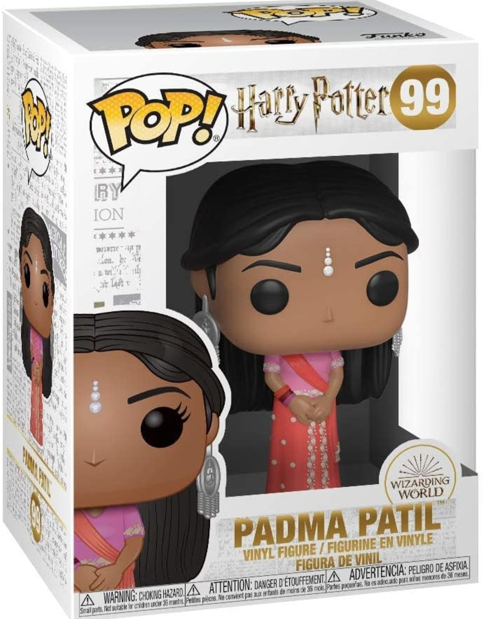 Funko POP Movies Harry Potter Padma Patil Vin Fig