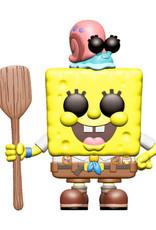 Funko Pop Animation Spongebob Movie Camping Spongebob Vin Fig