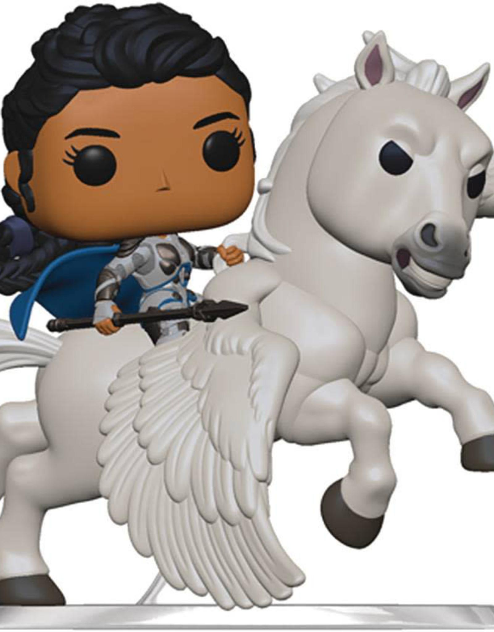 Funko Pop Rides Avengers Endgame Valkyrie On Horse Vin Fig