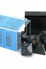 Chessex Dice Block 7ct. - Dusty Blue/Copper