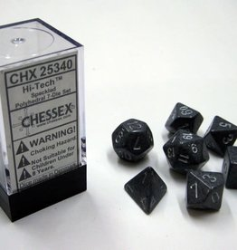 Chessex Dice Block 7ct. - Speckled Hi-Tech