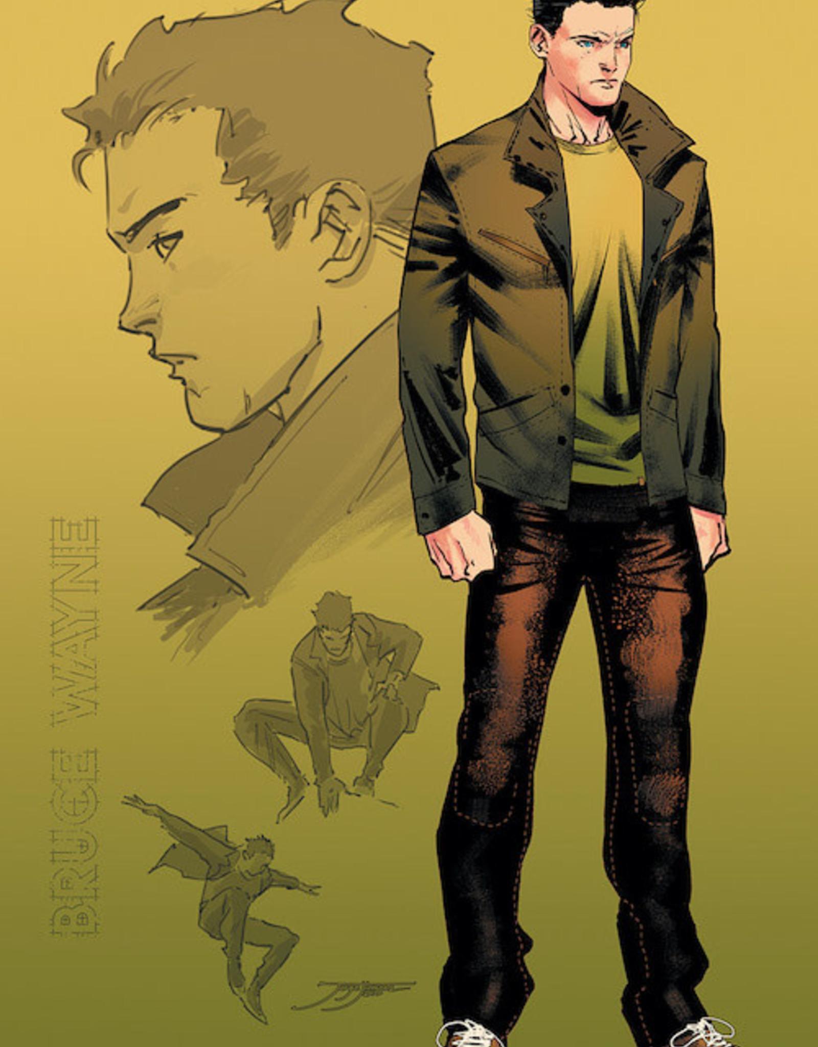DC Comics Batman #103 Inc 1:25 Jorge Jimenez Bruce Wayne Card Stock Var