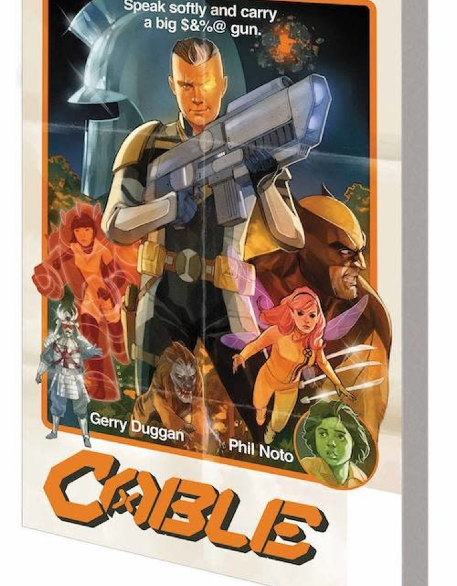 Marvel Comics Cable By Gerry Duggan TP Vol 01