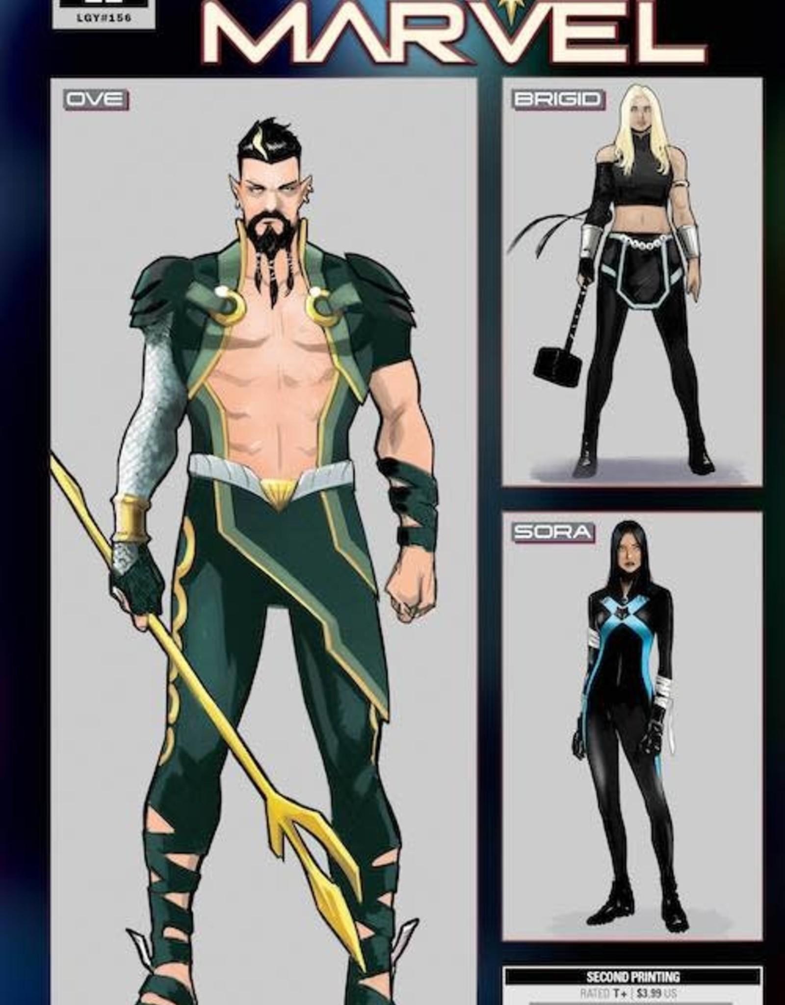 Marvel Comics Captain Marvel #22 2nd Ptg Var