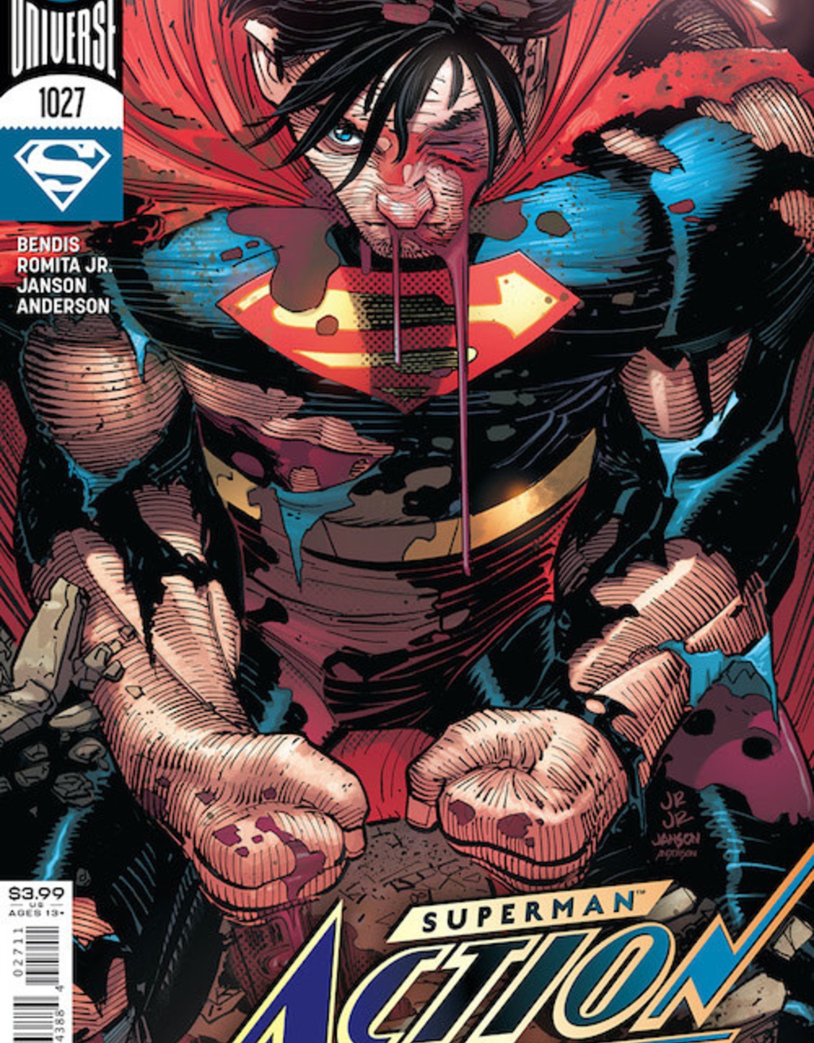DC Comics Action Comics #1027 Cvr A John Romita Jr & Klaus Janson