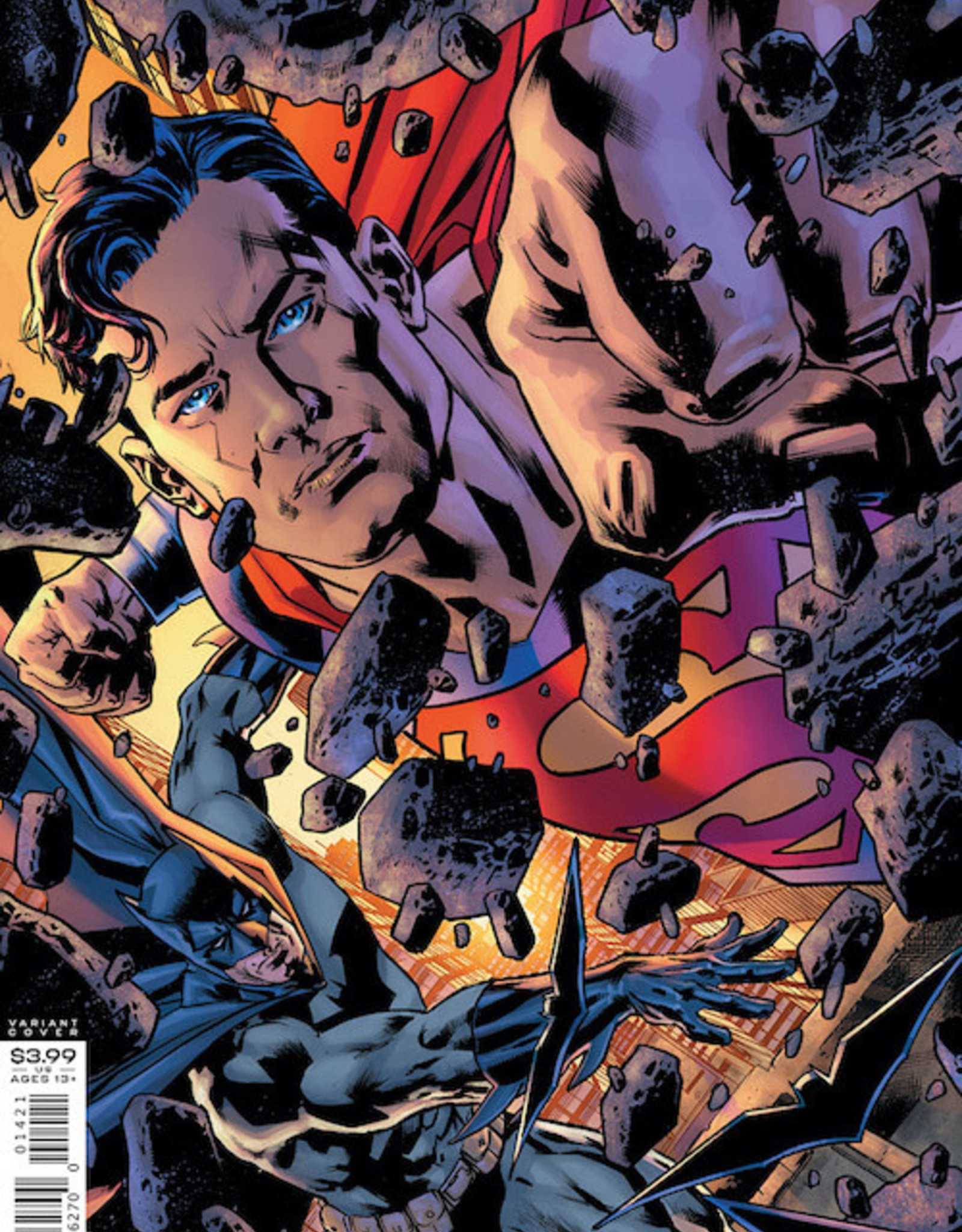DC Comics Batman Superman #14 Cvr B Bryan Hitch Var