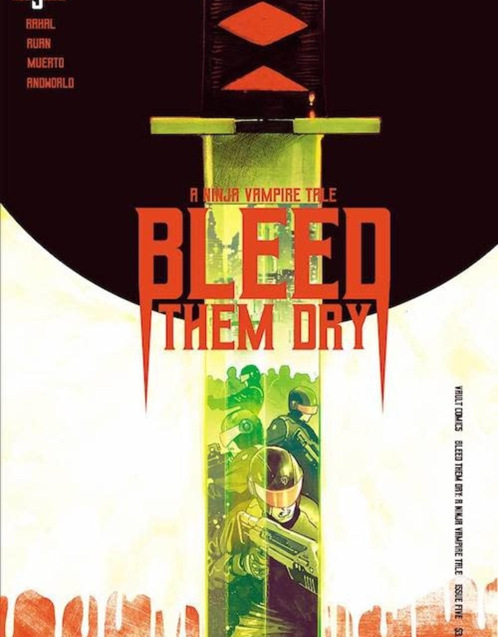 Vault Comics Bleed Them Dry #5 Cvr A Ruan