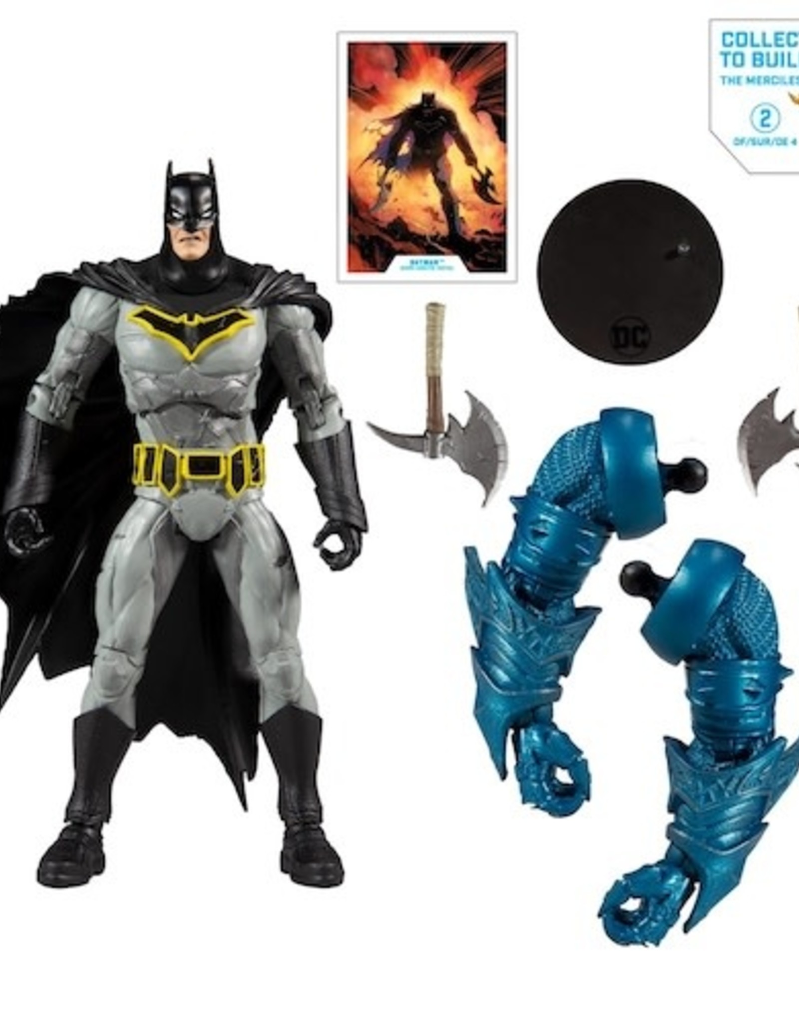 McFarlane Toys DC Collector Build-a 7in Batman Dark Knights: Metal Action Figure