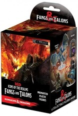 Wizkids Dungeons And Dragons: Icons Of The Realms Miniatures Booster Brick Set 15: Fangs And Talons