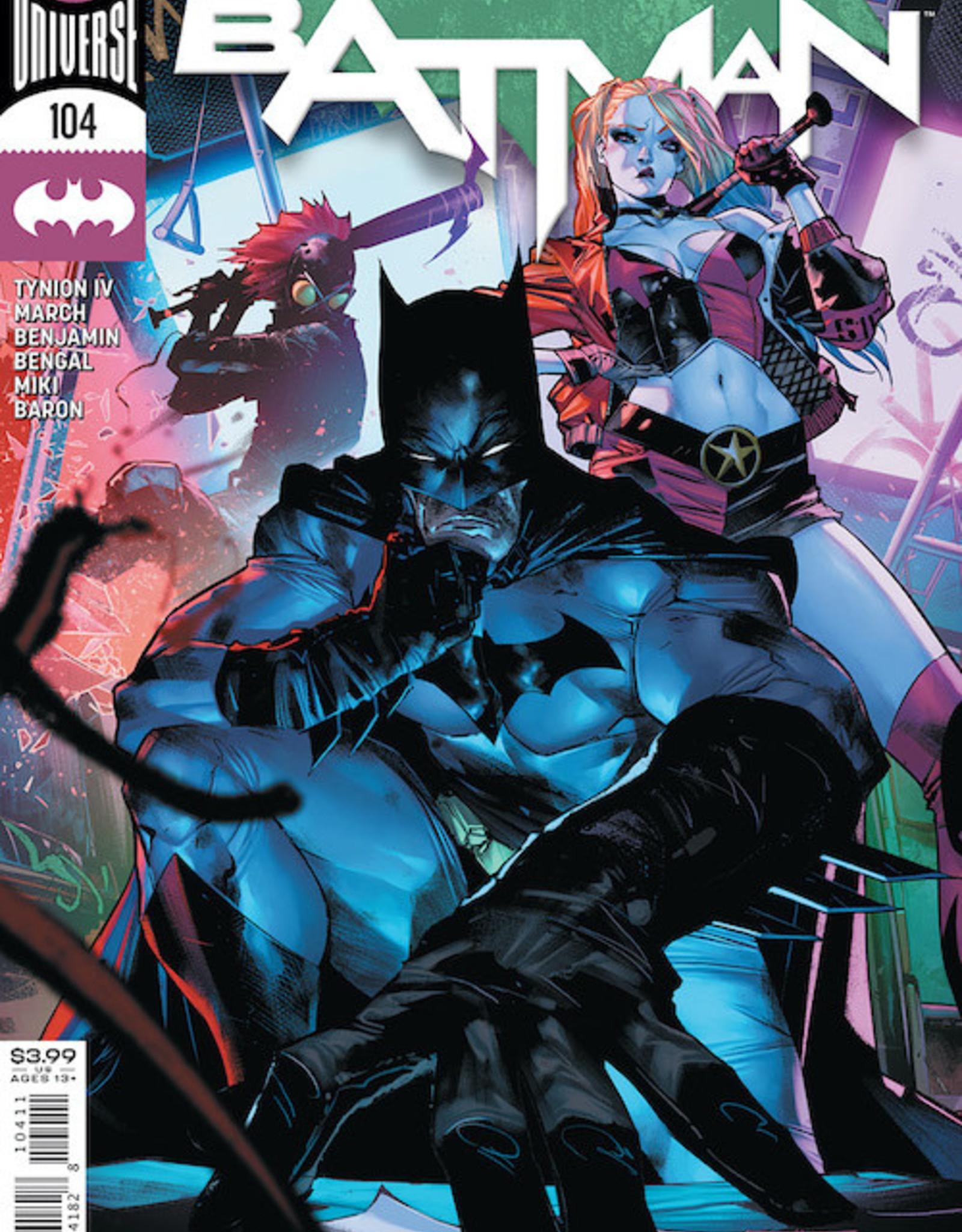 DC Comics Batman #104 Cvr A Jorge Jimenez