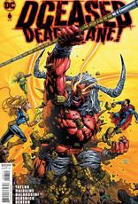 DC Comics DCeased Dead Planet #6 Cvr A David Finch