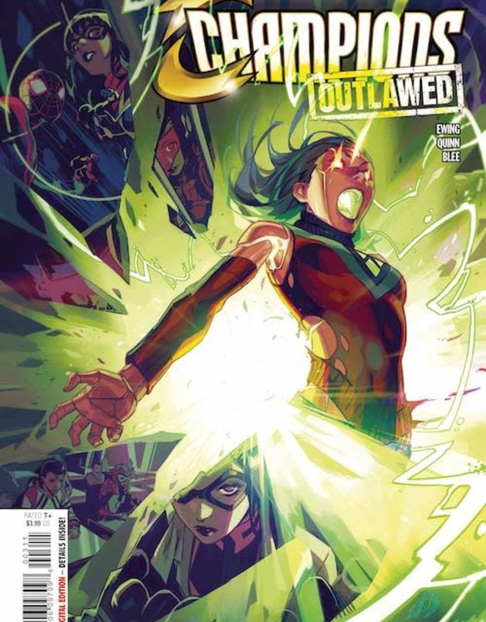 Marvel Comics Champions #3