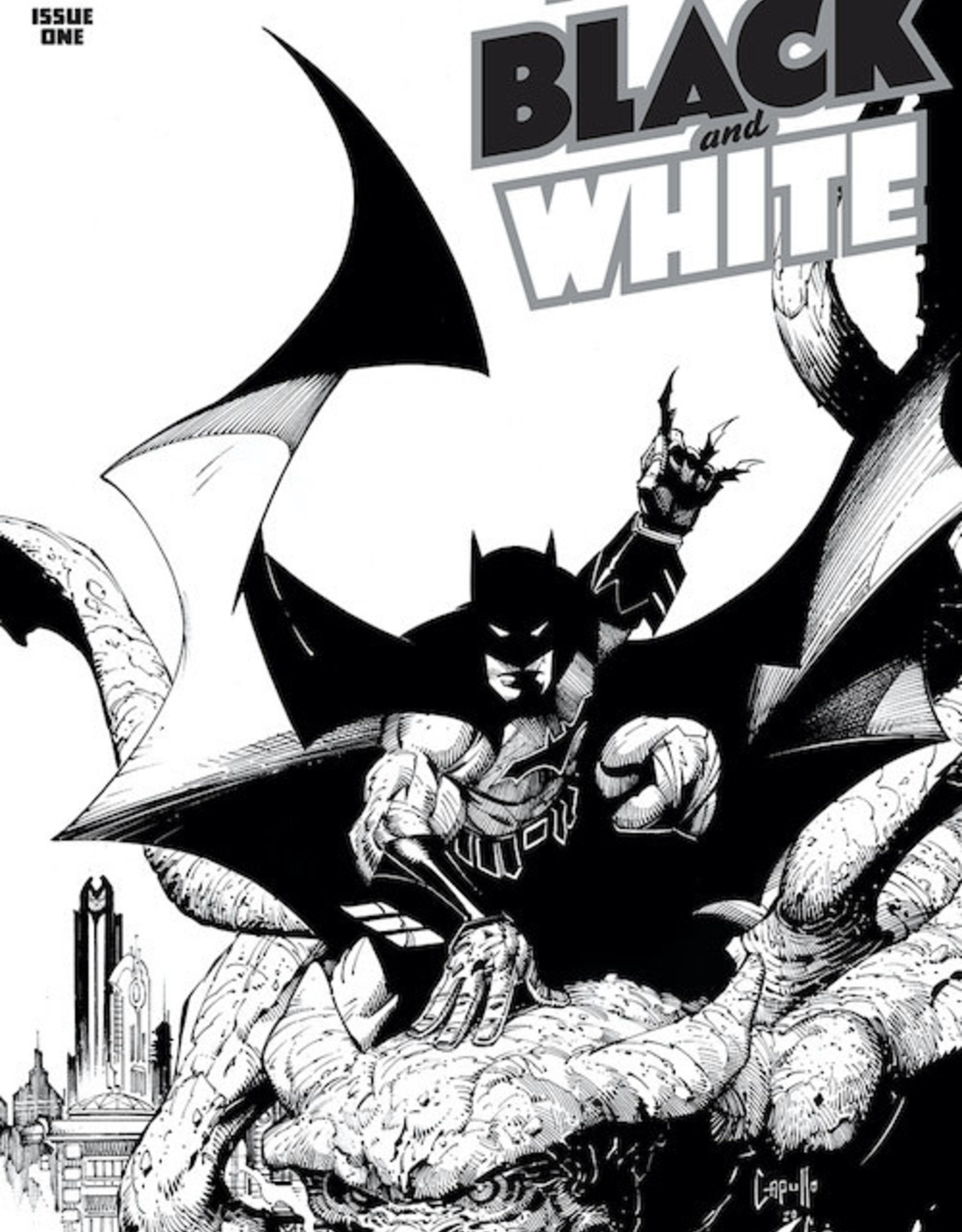 DC Comics Batman Black And White #1 Cvr A Greg Capullo
