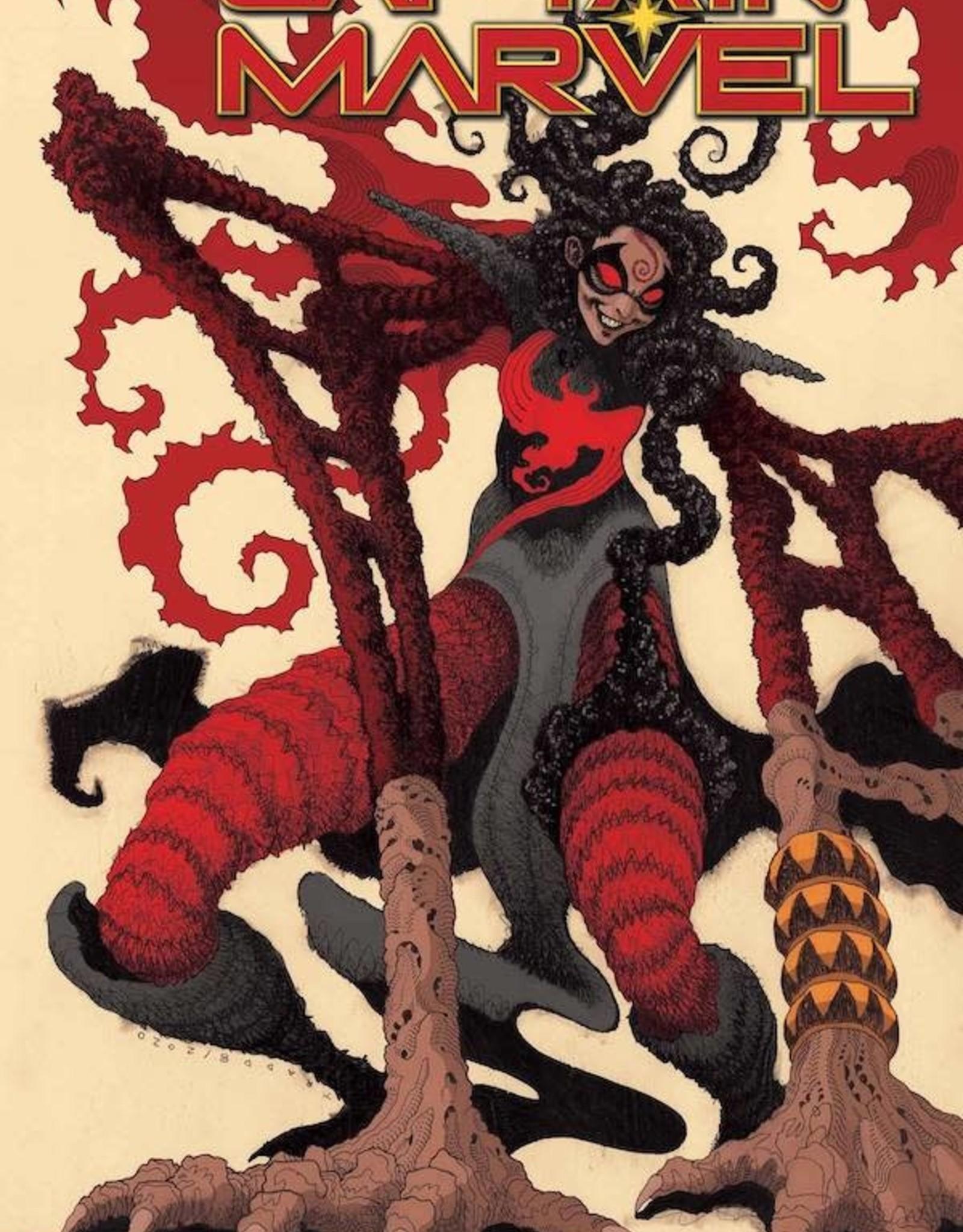 Marvel Comics Captain Marvel #24 Moore Knullified Var