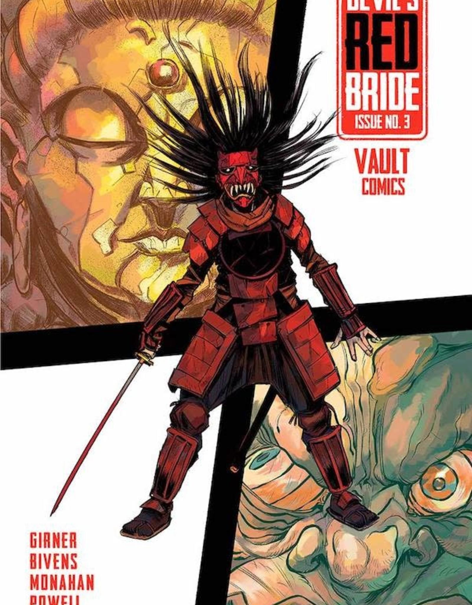 Vault Comics Devils Red Bride #3 Cvr A Bivens