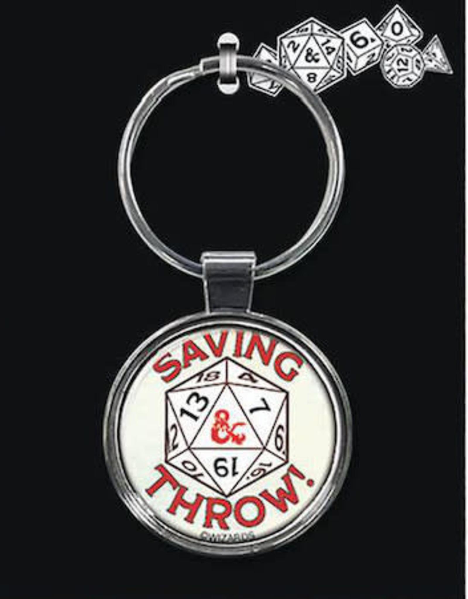 Ata Boy Dungeons & Dragons Keychain: Saving Throw