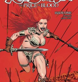 Dynamite Red Sonja Price Of Blood #1 Cvr B Golden