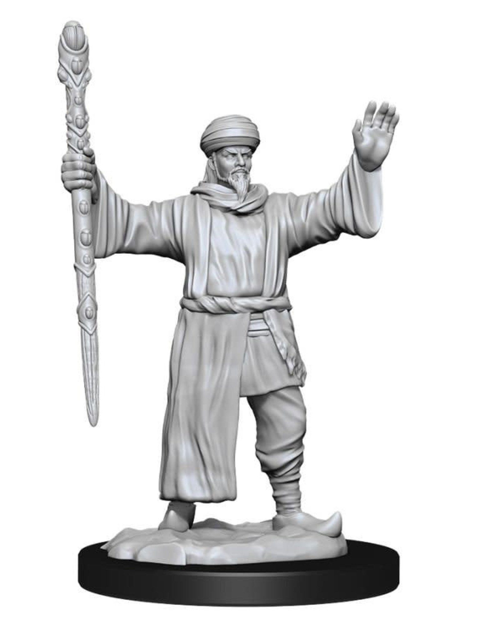 Wizkids Dungeons And Dragons Nolzur's Marvelous Miniatures: W13 Male Human Wizard